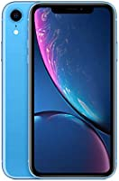 Apple iPhone XR (64GB, Blue) [Carrier Locked] + Carrier Subscription [Cricket Wireless]