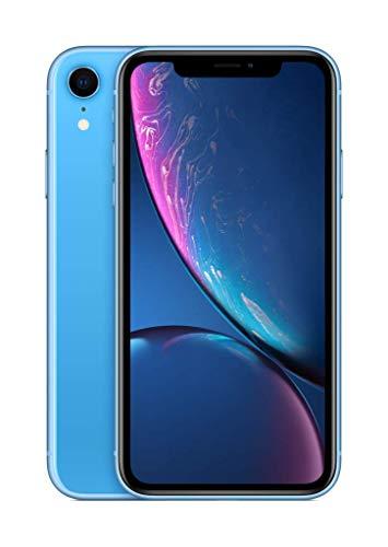 Apple iPhone XR 64GB Blue (Includes EarPods, Power Adapter)