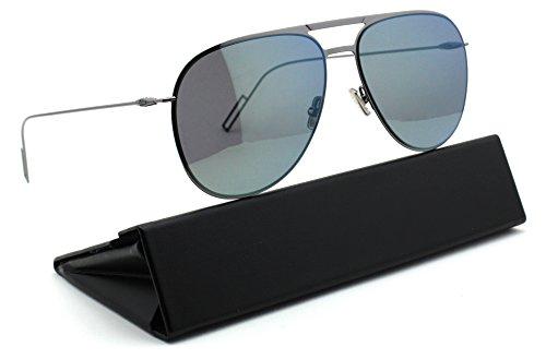 Dior Homme 0205/S Dark Ruthenium Frame / Grey Silver Mirror Lens - Homme Dior Designer