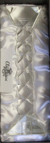 Oleg Cassini Crystal Twist Candlestick 112941