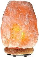 Save on Save on Himalayan Glow WBM 1002 large Salt lamp. ETL Certified himalayan pink salt lamp with Neem Wood Base/salt lamp light bulbs and Dimmer Control, Crystal