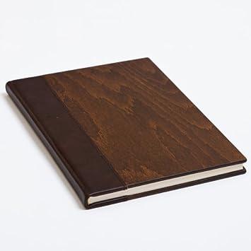 Agenda Natura - Imperial B5 - Diario con un madera de piel ...