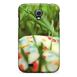 Fashion Cases For Galaxy S4- Donut Grass Food Defender Cases Covers