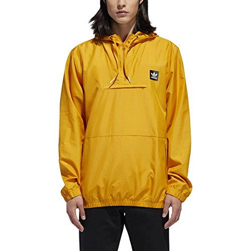 's Skateboarding Hip Packable Jacket, Tactile Yellow, L ()