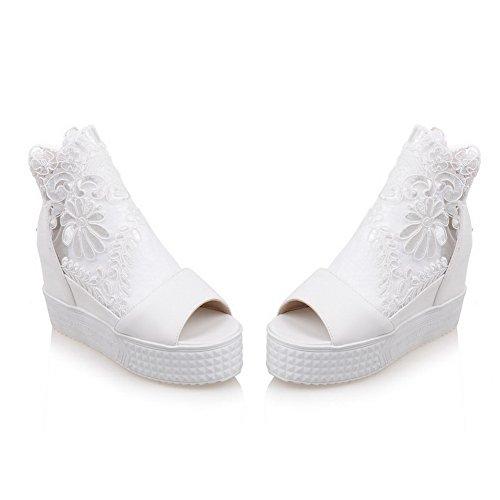 AdeeSuSdc03624 - Ballerine Donna, Bianco (White), 35