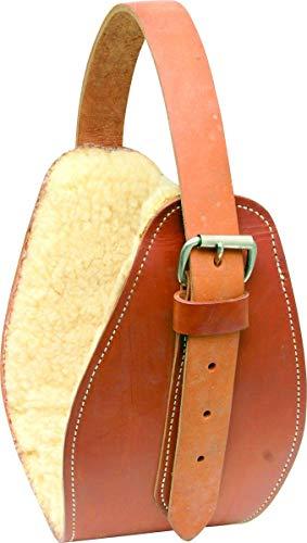 - Simco Fleece Lined Leather Jowl Wrap
