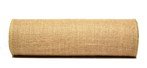 Firefly Craft Burlap NO FRAY Fabric, 15 Inches by 10 yards ()