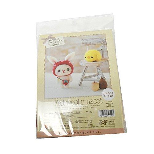Chick 441-307 / Production Kit Rin Rabbit At the Hamanaka Strawberry Hat