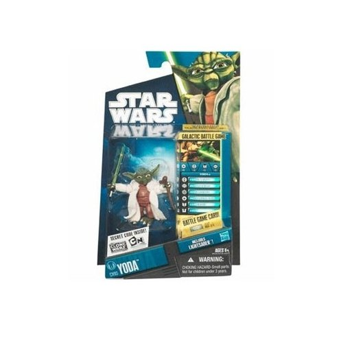 Star Wars Clone Wars Animated 2010 Figure Yoda #05