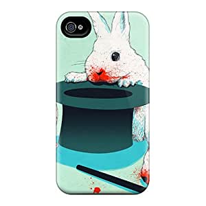 New Hard Cases Premium Iphone 6 Skin Cases Covers(magical Rabbits)