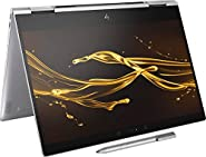 "Premium 2019 HP Spectre X360 13.3"" FHD IPS 2-in-1 Touchscreen Business Laptop/Tablet Intel Quad-Core i7-8550U 8GB RAM 256GB/512GB/1TB SSD PCIe NMVe Thunderbolt Backlit KB Ink Fingerprint Reader Win 10"