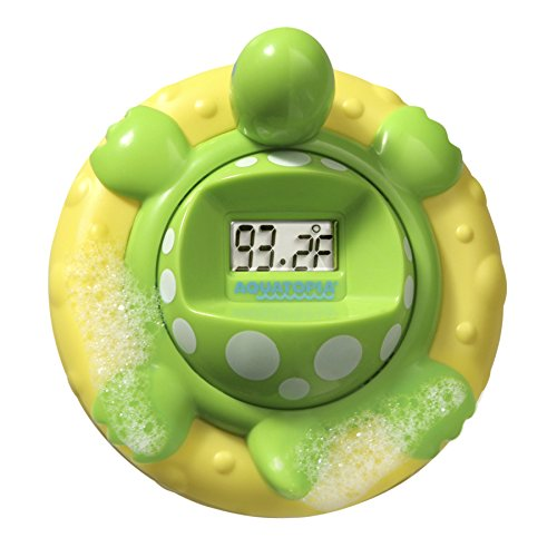 AQUATOPIA Digital Audible Alarm, Floating Safety Bath Thermometer – beeps when too hot or too cold (Bath Thermometer)