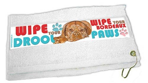 Dogue De Bordeaux Paw Wipe Towel by Pipsqueak