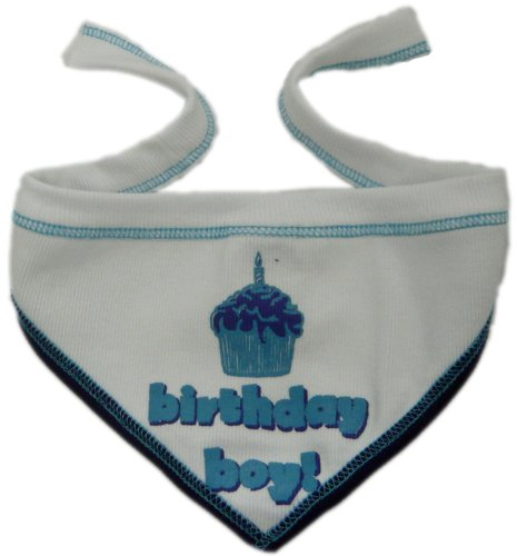 I See Spot's Pet Scarf Bandanna, Birthday Boy, Large, White by I See Spot