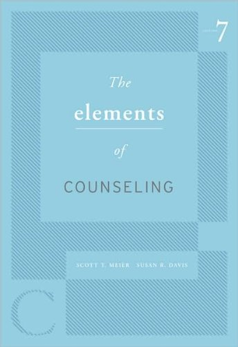 S. T. Meier's,S. R. Davis's 7th(seventh) edition (The Elements of Counseling [Paperback])(2010)