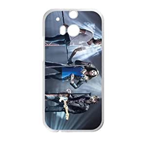 Lady Antebellum 001 2 funda HTC One M8 caja funda del teléfono celular del teléfono celular blanco cubierta de la caja funda EVAXLKNBC24452