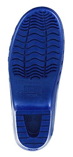 Zoccolo Calzuro Autoclavabile Senza Ventilazione Superiore Blu Metellico