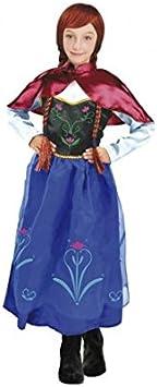 Disfraz Princesa de Hielo Capa Ana niña 7-9 años: Amazon.es ...