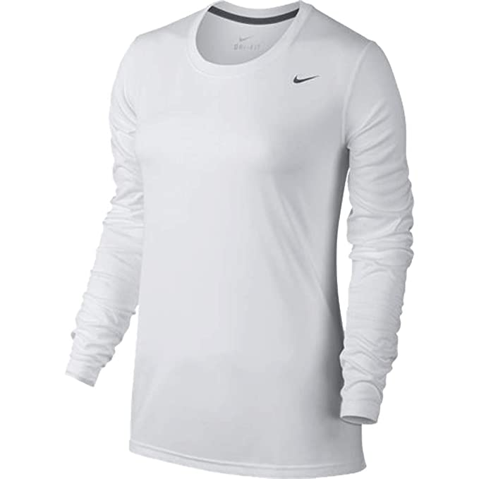 8a9038dcdc5 Amazon.com  Nike Womens Dri-Fit Fitness Workout T-Shirt  Sports ...