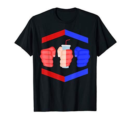 3 Piece and a Soda Gamebred MMA Fighter Quote Slogan Fist