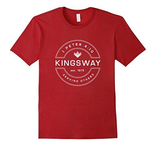 Mens Kingsway Baptist Church Serves Tee XL - Kingsway Shop