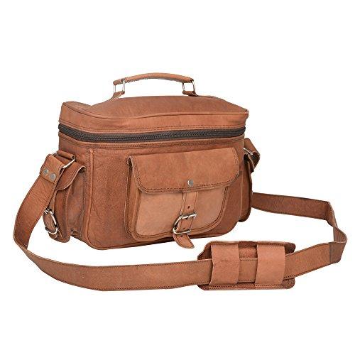 Habiller~ Unisex Leather 7 Ltr. Vintage Brown