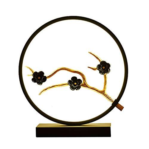 Lovebird/Plum / Peach Living Room Bedroom Bedside Lamp Creative Simple Modern Romantic Table Lamp