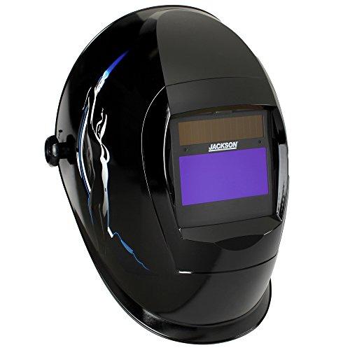 Jackson Safety SmarTIGer Variable Auto Darkening (ADF) Welding Helmet with Balder Technology (46139), W40, Torch Dancer, 1 / Order