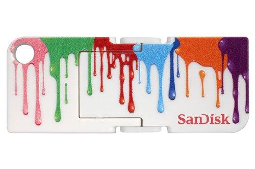 Price comparison product image SanDisk Cruzer Pop 16GB USB 2.0 Flash Drive,  Paint- SDCZ53A-016G-B35