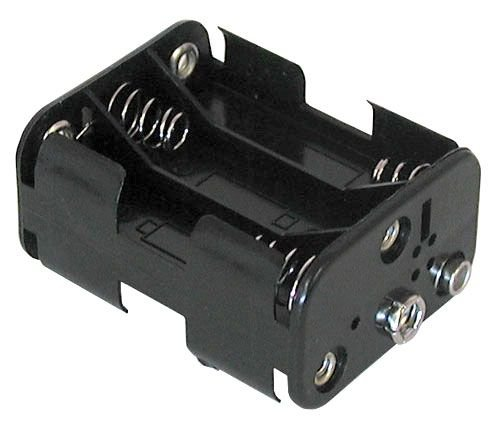 (Philmore Battery Holder for (6) AA with Standard Snap Connector : BH363 (1))