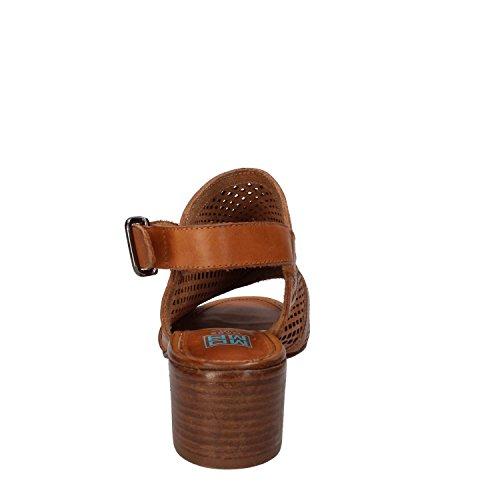 à femme Chaussures brides Marron MOMA 7xwq45SX