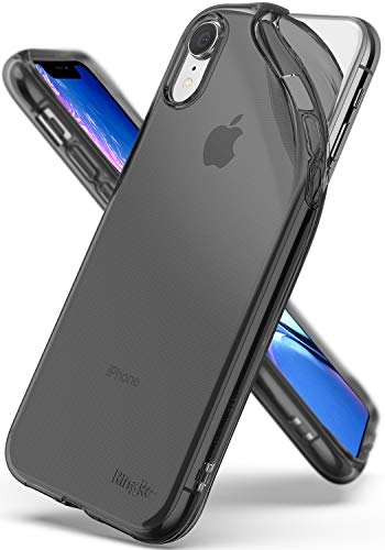 """Ringke Air Designed for iPhone XR Case Scratch Resistant Cover for iPhone 10R 6.1"""" (2018) - Smoke Black"""