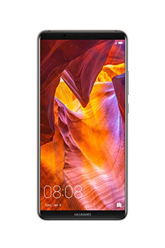 "Huawei Mate 10 Pro Unlocked Phone, 6"" 6GB/128GB, AI Processor, Dual Leica Camera, Water Resistant IP67, GSM Only - Titanium Gray (US Warranty)"