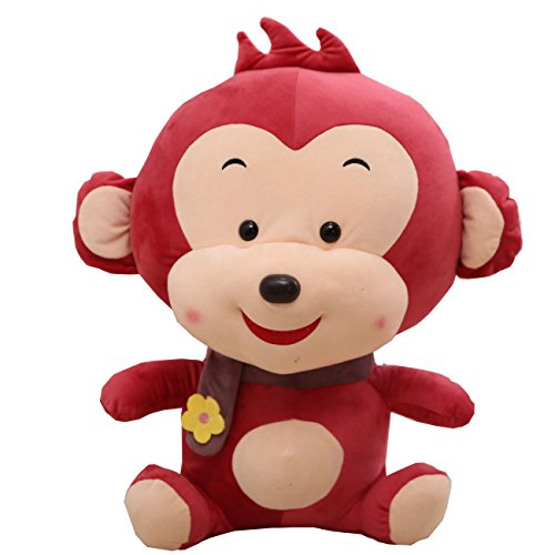 [Pety Pet Monkey with Flower Plush Soft Toys ,11.8 Inch] (Benny And Smalls Costume)