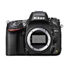 NIKON D610 24.3 MP CMOS FX-Format Digital SLR Camera Body Only