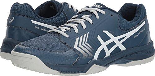 ASICS Men's Gel-Dedicate 5 Dark Blue/Silver/White 12 D US