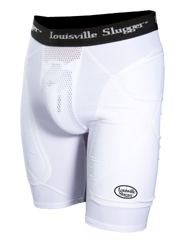 Louisville Slugger Boy's Slugger Bronze Shield Sliding Shorts