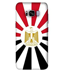 ColorKing Football Egypt 08 Multi Color shell case cover for Samsung S8