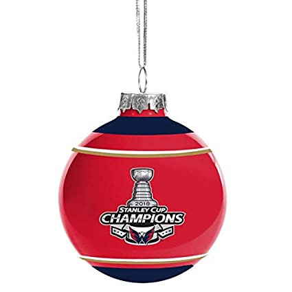 Forever Collectibles Washington Capitals 2018 Stanley Cup Champions Glass  Ball Christmas Ornament - Amazon.com: Forever Collectibles Washington Capitals 2018 Stanley
