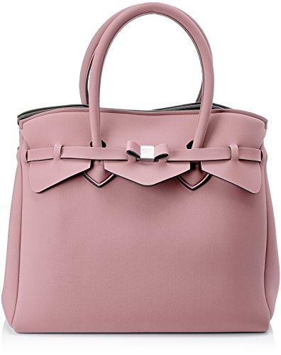 save my bag Miss 3/4, Borsa a Mano Donna, 39.5x34x19 cm (W x H x L) Rosa
