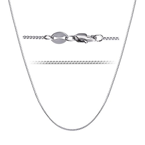 LOLIAS 2 Pcs Stainless Steel 1mm Round Snake Chain Box Chain Necklace Super Thin & Strong,30 Inch by LOLIAS (Image #3)