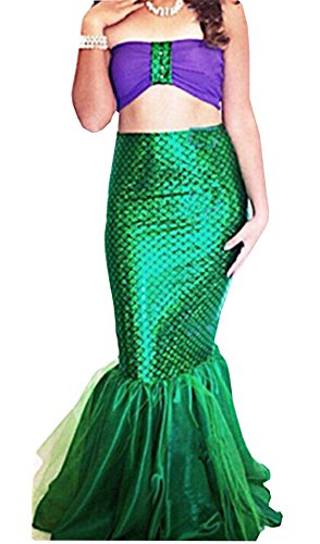 Women's Mermaid Costume Lingerie Halloween Cosplay Fancy