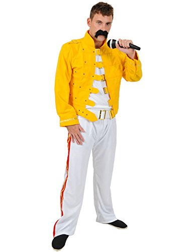 Adult Yellow Rock Star Costume -