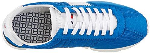 Tommy Hilfiger T2285OBIAS 9C, Zapatillas para Hombre, Azul (Imperial Blue 407), 40 EU
