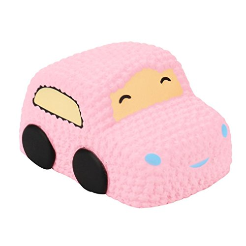 Joykith Stress Reliever Car Cartoon Squishy Slow Rising Cream Scented Decompression Toys