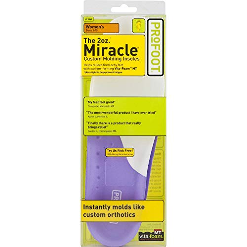 ProFoot Original Miracle Custom Molding Orthotic Insoles