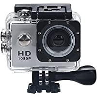 POTO HD 1080P 30M Waterproof Sports Action Camera 2.0 Inch HD LCD Screen Super Wide Angle Lens Outdoor Camera Mini DV Cam+ Parts for Gopro RY-629