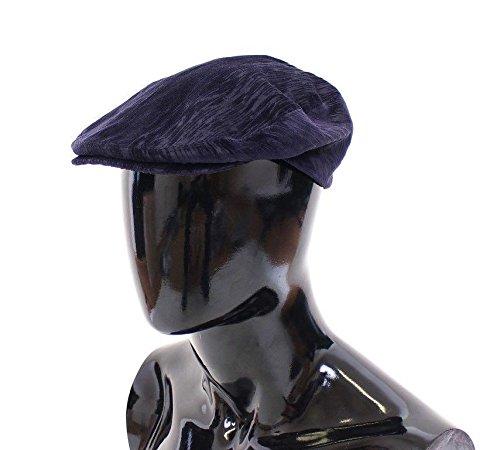 Dolce & Gabbana Blue Cotton Logo Hat Cabbie Dolce And Gabbana Hat