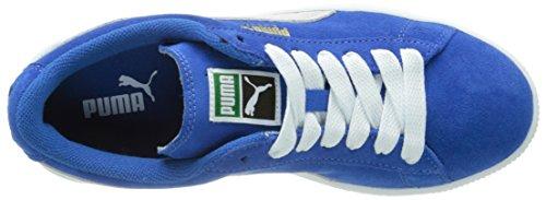 snorkel Jr Para Azul Blue Niños Unisex Puma Zapatillas Suede white I56qwx7p0n