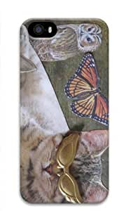 Cat cool Custom pc 3D For Iphone 6 Plus Phone Case Cover by Cases Mousepads Kimberly Kurzendoerfer